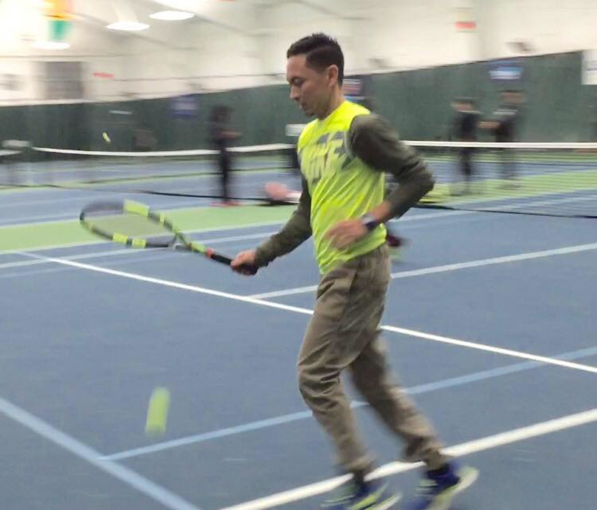 Coach Ken Diaz – Certified Professional Tennis Instructor